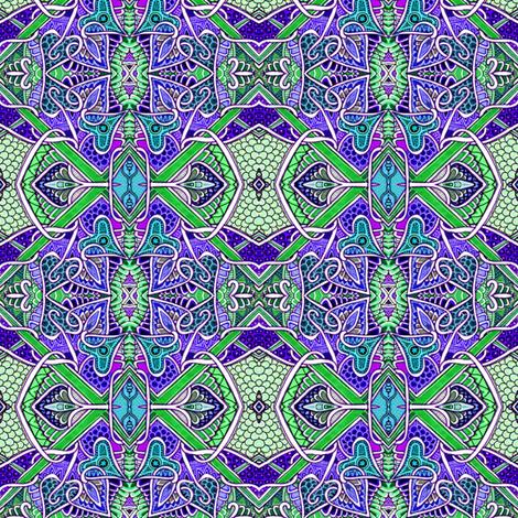 Dragon My Heart fabric by edsel2084 on Spoonflower - custom fabric