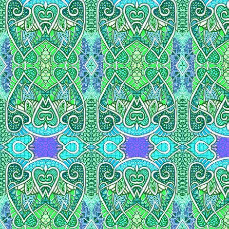 How Green Was My Dragon fabric by edsel2084 on Spoonflower - custom fabric