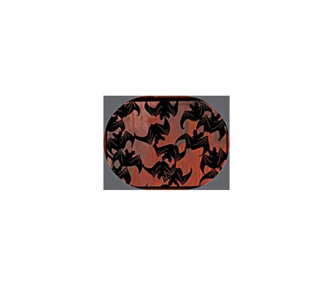 Batty Pumpkin Lantern fabric by materialsgirl on Spoonflower - custom fabric