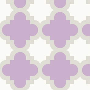 burst lavender white