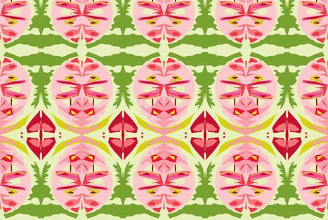 Ravishing Radishes fabric by susaninparis on Spoonflower - custom fabric