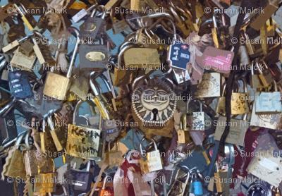 Love Locks Paris - variation 2