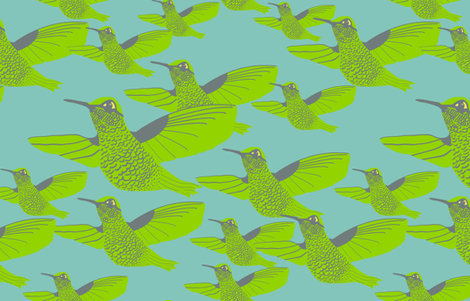 We Fly fabric by nezumiworld on Spoonflower - custom fabric