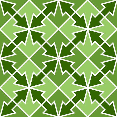 arrows 4m 2 X fabric by sef on Spoonflower - custom fabric