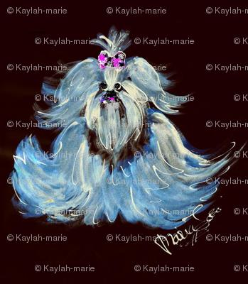 YORKIE BLUE by Kaylah Marie