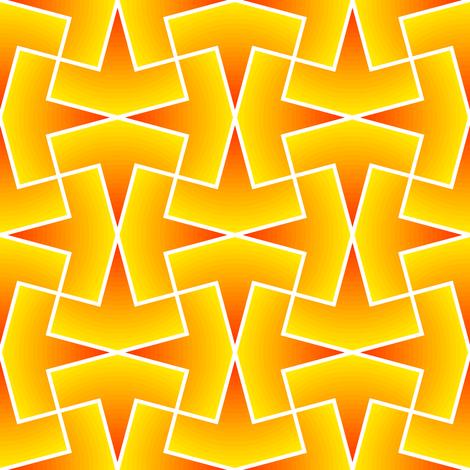 arrow 4g X gradient fabric by sef on Spoonflower - custom fabric
