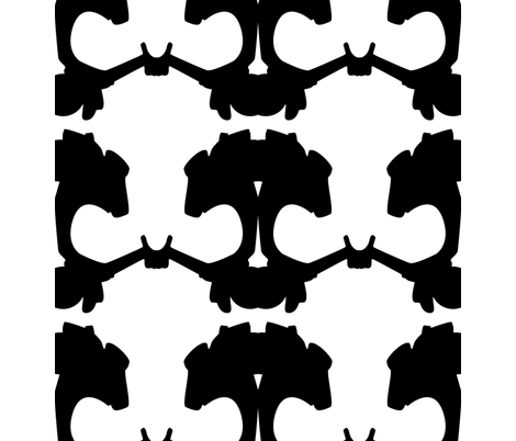 vespaskull1 fabric by francisdrake on Spoonflower - custom fabric