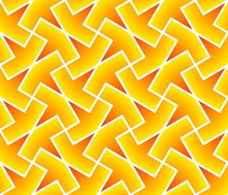 arrow 4g gradient fabric by sef on Spoonflower - custom fabric
