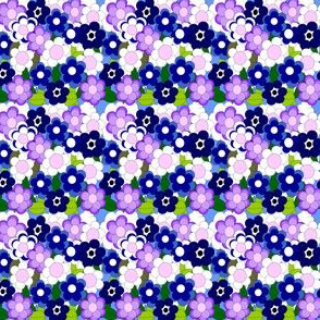 Flower Picture Fabric