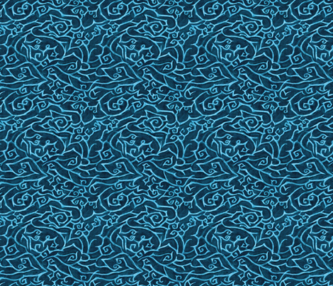 Malaysian Wax Resist   fabric by wren_leyland on Spoonflower - custom fabric