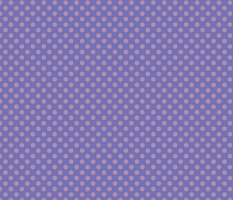 Purple with Orchid Dots fabric by anntuck on Spoonflower - custom fabric