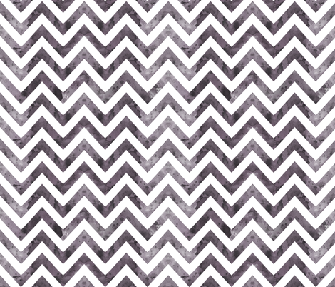 watercolor chevron greyish fabric by katarina on Spoonflower - custom fabric