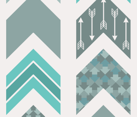 Chevron, Arrow, Pointer fabric - ebygomm - Spoonflower
