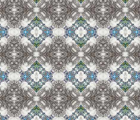 Marasmius fabric by lisa_cat on Spoonflower - custom fabric