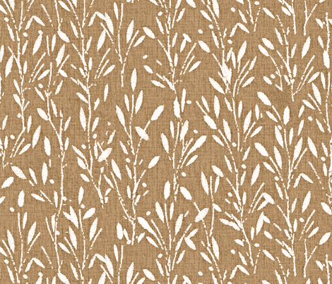 Olive Grove - Tan fabric by kristopherk on Spoonflower - custom fabric