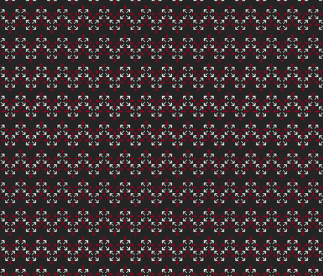 Pixelated arrows fabric by petitspixels on Spoonflower - custom fabric