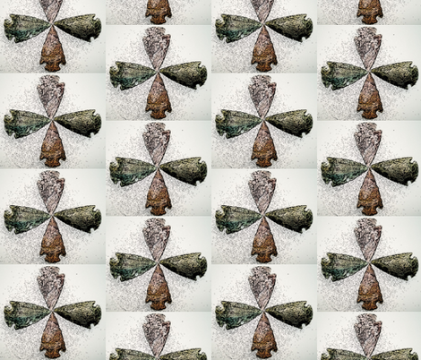 ancestral treasures-ed fabric by sharibowden on Spoonflower - custom fabric