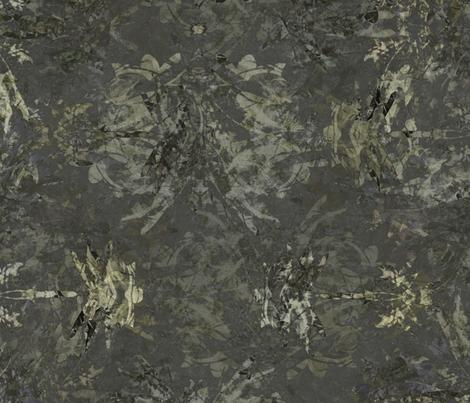 Dragonfly - Charcoal Batik fabric by wren_leyland on Spoonflower - custom fabric