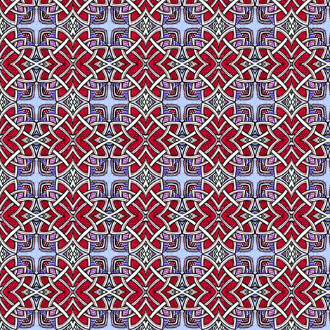 Celtic Star fabric by edsel2084 on Spoonflower - custom fabric