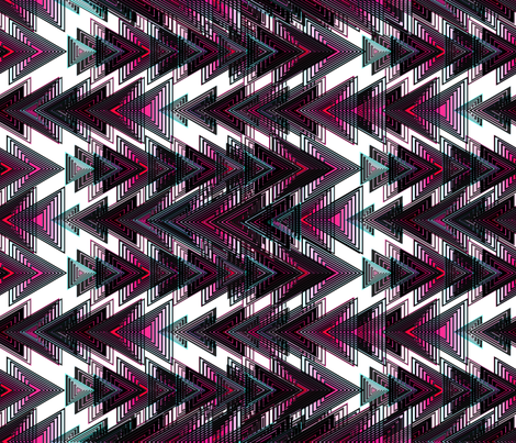 Abstract Arrows fabric by angeladesaenz on Spoonflower - custom fabric