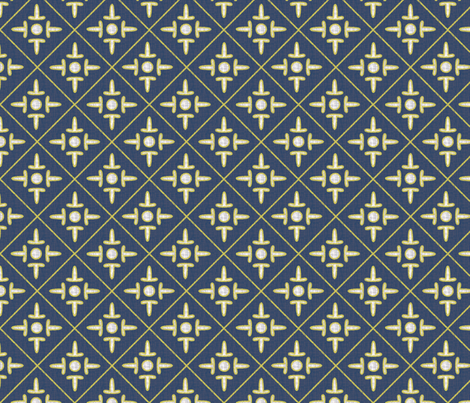 xi2,xh2,xw1,after_matisse_colonial_cross_blue_white_gold_peach fabric by glimmericks on Spoonflower - custom fabric