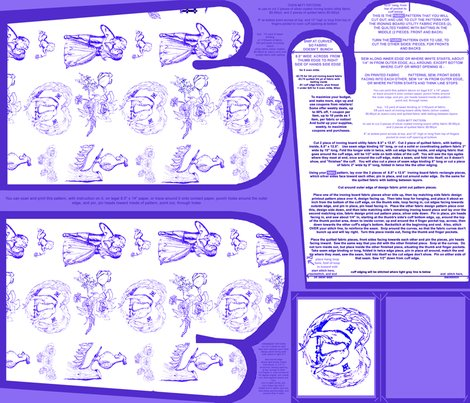 Coolbluetoileovenmittsfabricpatternfatquarterwithpaperpattern_shop_preview