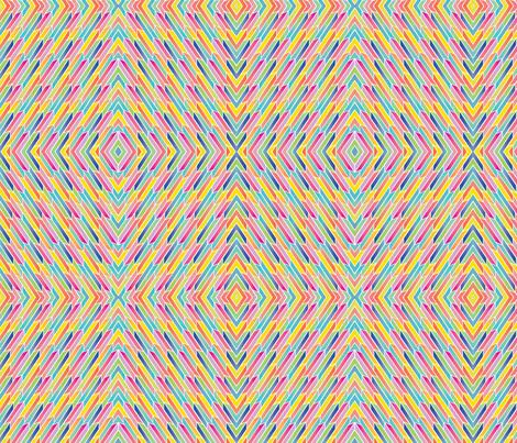 Endless Op Art Arrows fabric by paintedstudioartdesign@gmail_com on Spoonflower - custom fabric