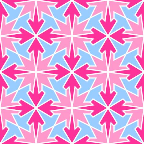 arrows 4m 3 X fabric by sef on Spoonflower - custom fabric