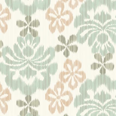 La Sarasa - mint -  fabric by frumafar on Spoonflower - custom fabric