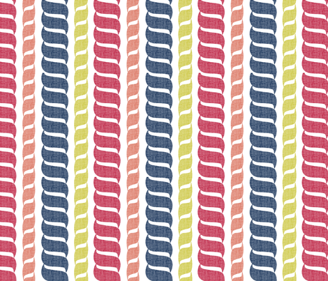 matisse_rope4 fabric by glimmericks on Spoonflower - custom fabric