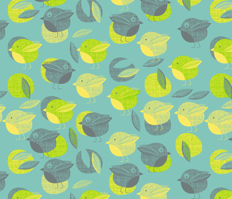 Roly-Poly Polka fabric by spellstone on Spoonflower - custom fabric
