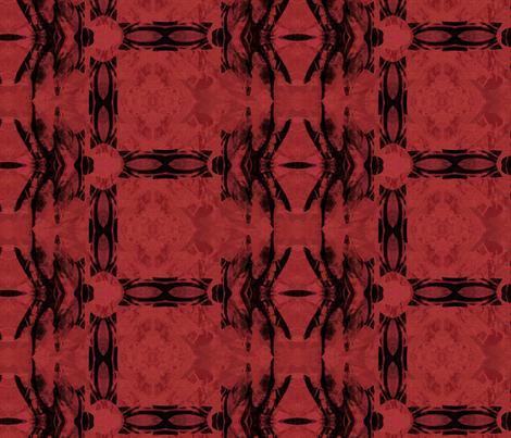 Dragonfly Red Plaid fabric by wren_leyland on Spoonflower - custom fabric