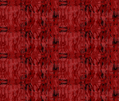 Dragonfly Red Plaid fabric by wren_leyland on Spoonflower - custom fabric