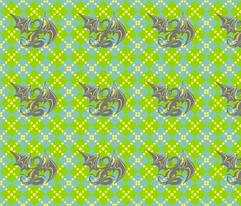 dragon_flight fabric by mammajamma on Spoonflower - custom fabric