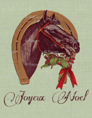 Christmas Horseshoe