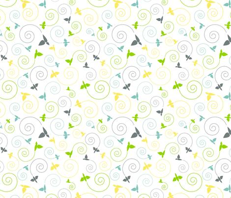 envol fabric by vlike on Spoonflower - custom fabric