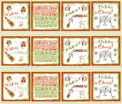 HOLIDAY CHEERS! Napkin Set