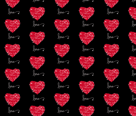 Love Fabric fabric by karenharveycox on Spoonflower - custom fabric