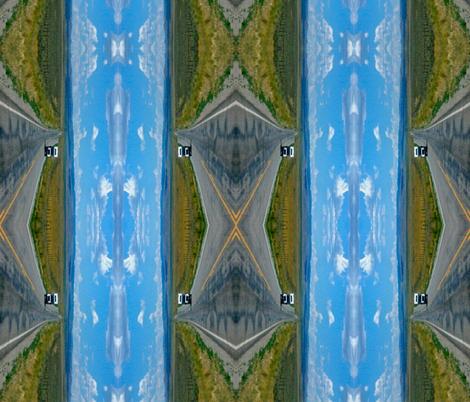 Open Road Infinity fabric by walkwithmagistudio on Spoonflower - custom fabric