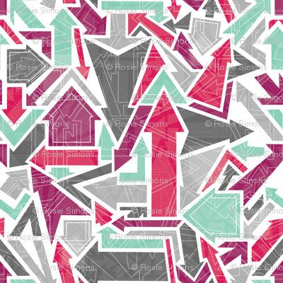 Patterned Arrows