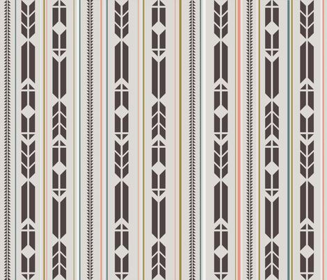 arrowspattern fabric by sarahstearns on Spoonflower - custom fabric