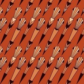 Art Deco Arrow Diagonal