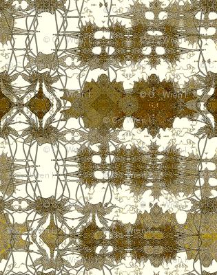 Antiqued lace future