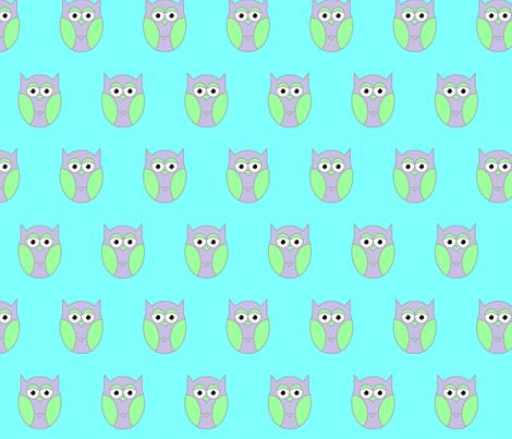 owl1 fabric by katrinaj on Spoonflower - custom fabric