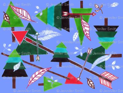 Evergreens & Arrows