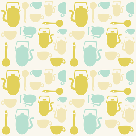 Vintage Kitchen fabric - rachelgresham - Spoonflower