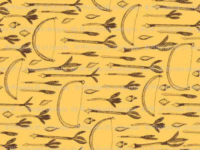 A Boy's Own Golden Arrow Collection - Vintage Yellow Background (4)