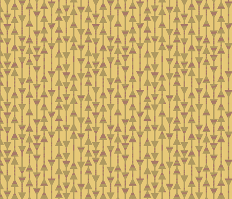 Sandstone Arrows fabric by mongiesama on Spoonflower - custom fabric