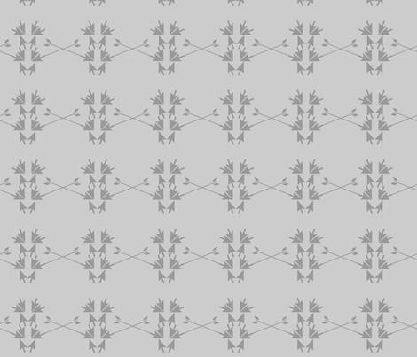 double arrow path fabric by dahbeedo on Spoonflower - custom fabric