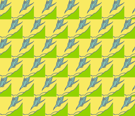Flight Path (limited palette #1) fabric by krussimages on Spoonflower - custom fabric